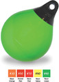 "Taylor Made - 18"" Net Buoy, Neon Green, 1-1/2"" Rope-Eye Diameter (905718)"