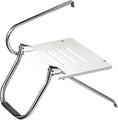 Whitecap Industries - Platform, O/B, White, w/Ladder (67902)