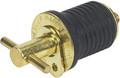 Moeller Marine - Drain Plug, Turn-Tite, Brass (020899-10)