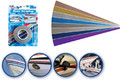 "Incom - Metallic Bright Blue Boat Striping Tape, 3"" x 50' (RE165MB)"