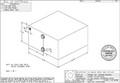 """Moeller Marine - 23 Gallon Waste Tank, 22.5""""L x 22.5""""W x 12""""H (WT2401-90)"""