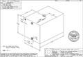 """Moeller Marine - 76 Gallon Waste Tank, 35.63""""L x 23.25""""W x 22.81""""H (WT7701-90)"""