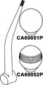Seastar / Mechanical - SS Shift Knob, Smooth (CA69051P)