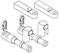 Seastar / Mechanical - Cable Conn. Kit, 3300 (CA27319P)