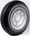 Americana Tire & Wheel - Galvanized Spoke Rim w/ST175/80D13C, 5H ()