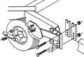Ve-ve - Spare Tire Carrier, HD (SM-97)