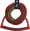 Kwik Tek - Radius Handle Ski Rope, 3-Section, 75' (AHSR-3)