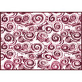 Camco RV Outdoor Mat, 8' x 16', Burgundy Swirl 01-2952 42842 14-2842