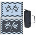 Ming's Mark Awning Mat, Racing Flag, 6' X 9' 01-4724 RF-6091