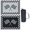 Ming's Mark Awning Mat, Racing Flag, 9' X 12' 01-4750 RF-9121