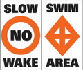 Taylor Made Products Swim Area Label (pair) 46185