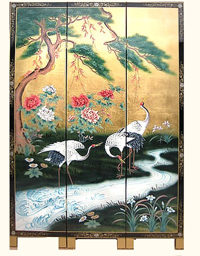 oriental wall screen