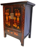 antique lacquered shoe cabinet furniture