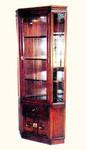 Rosewood corner cabinet