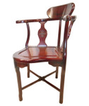 Solid Rosewood Corner Chair long Life Craved