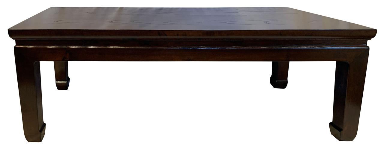 Oriental Rosewood Coffee Table Ming Design 50 Wide Oriental Furnishings Furniture Decor