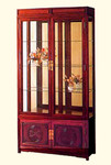 Long Life China display cabinet (lighted)
