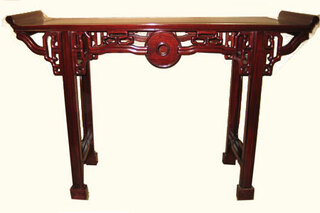 Solid rosewood sofa Table