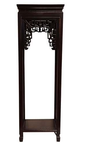 Plant Stand Oriental Carved