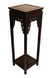 Pedestal Carved Rosewood