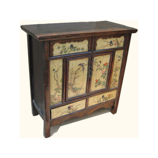 Tibetan Cabinet  Hand Made of Reclaimed Lumber