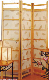 3-panel falling leaf screen.