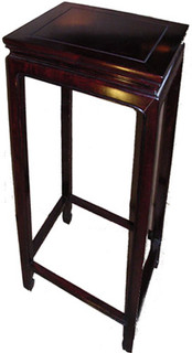 14 inch square Ming style stand for Chinese porcelain  or ceramic vases