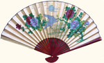 35 inch high folding fan