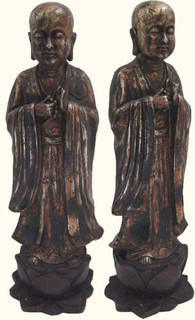 24 inch high standing Buddha-One hand Blessing
