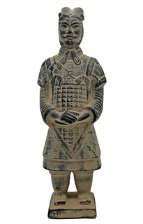 Chinese Warrior Statue Xhian