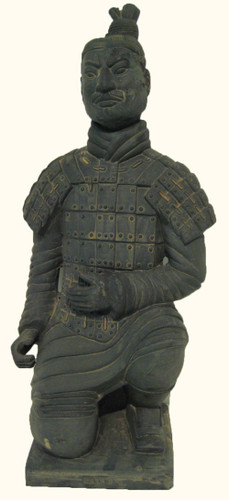 Xian Kneeling Warrior ceramic statue