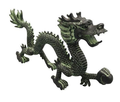 14 inch bronze dragon