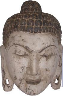15 inch high Dharma Buddha mask