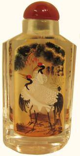 Beautiful hand painted Opium Snuff Bottle