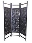 Shanghai-long life, 3 panel Fabric screen or room divider