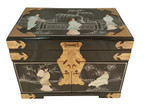 Mother of Pearl oriental jewelry box