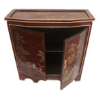 32  inch wide  Tortoise shell red Oriental Cabinet