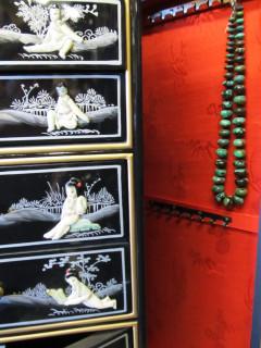 Oriental Jewelry Armoire