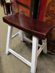 Asian moon shaped stool