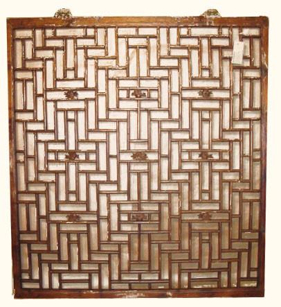 Antique Window, Chinese lattice design