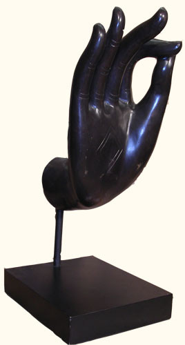 SALE Bronze Thai style Buddha Hand giving Blessing