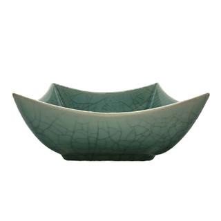 "Oriental Furniture 20/"" Turquoise Porcelain Lamp"