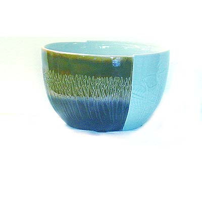 Summer, Winter 11 inch modern bowl