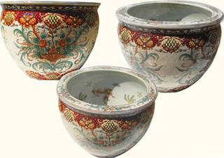 Florentine style fishbowl