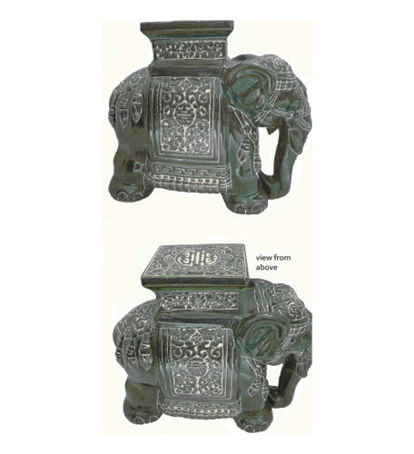 Green Elephant stool