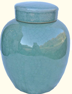 Light Celadon Jar