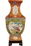 Hand Painted Chinese Porcelain Vase