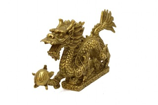 Bronze running dragon