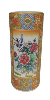 Umbrella Stand Chinese Porcelain
