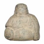Back -Happy Buddha Garden Statue